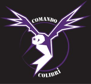 Logo anterior Comando Colibrí