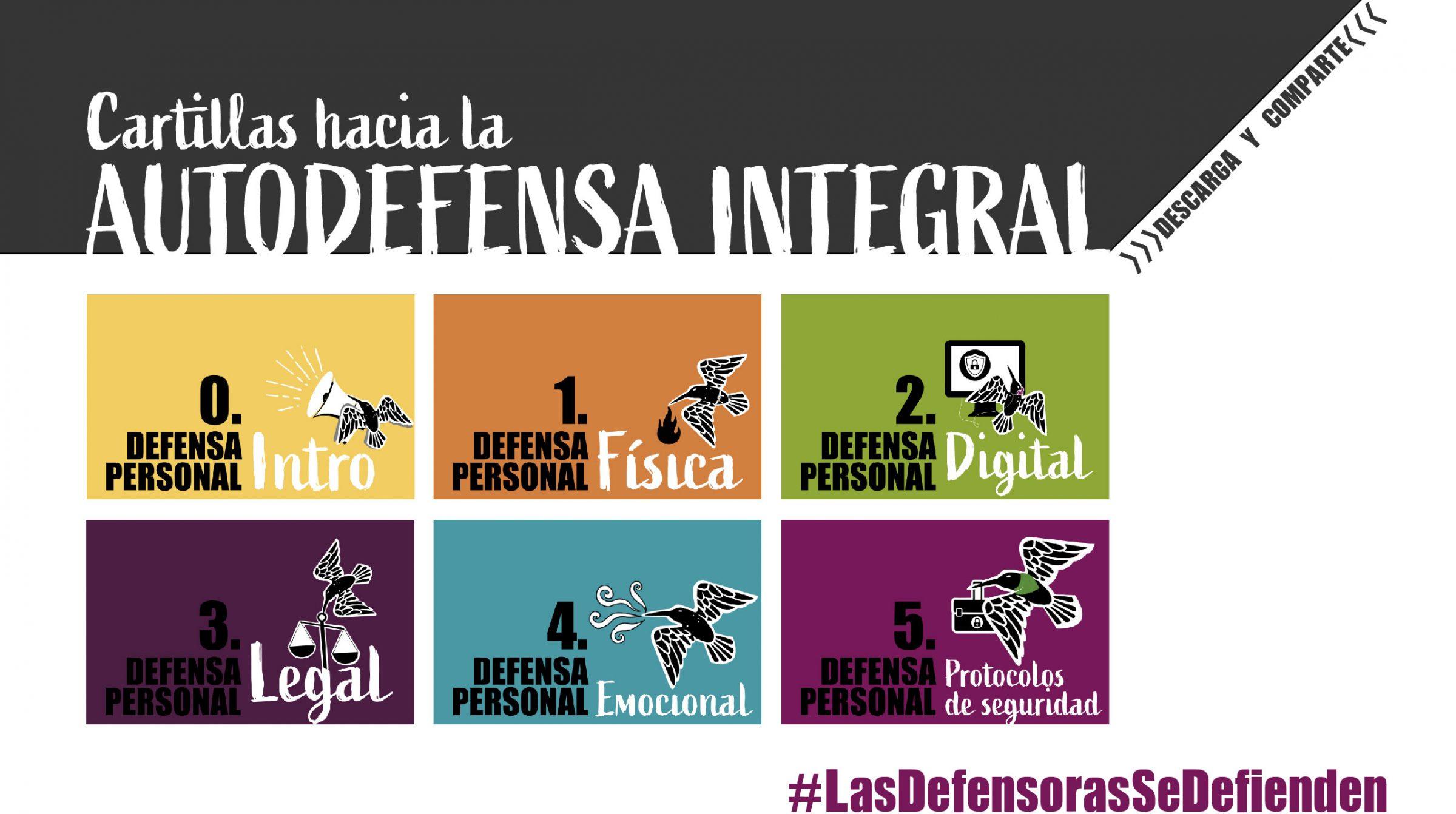 Cartillas hacia la autodefensa integral